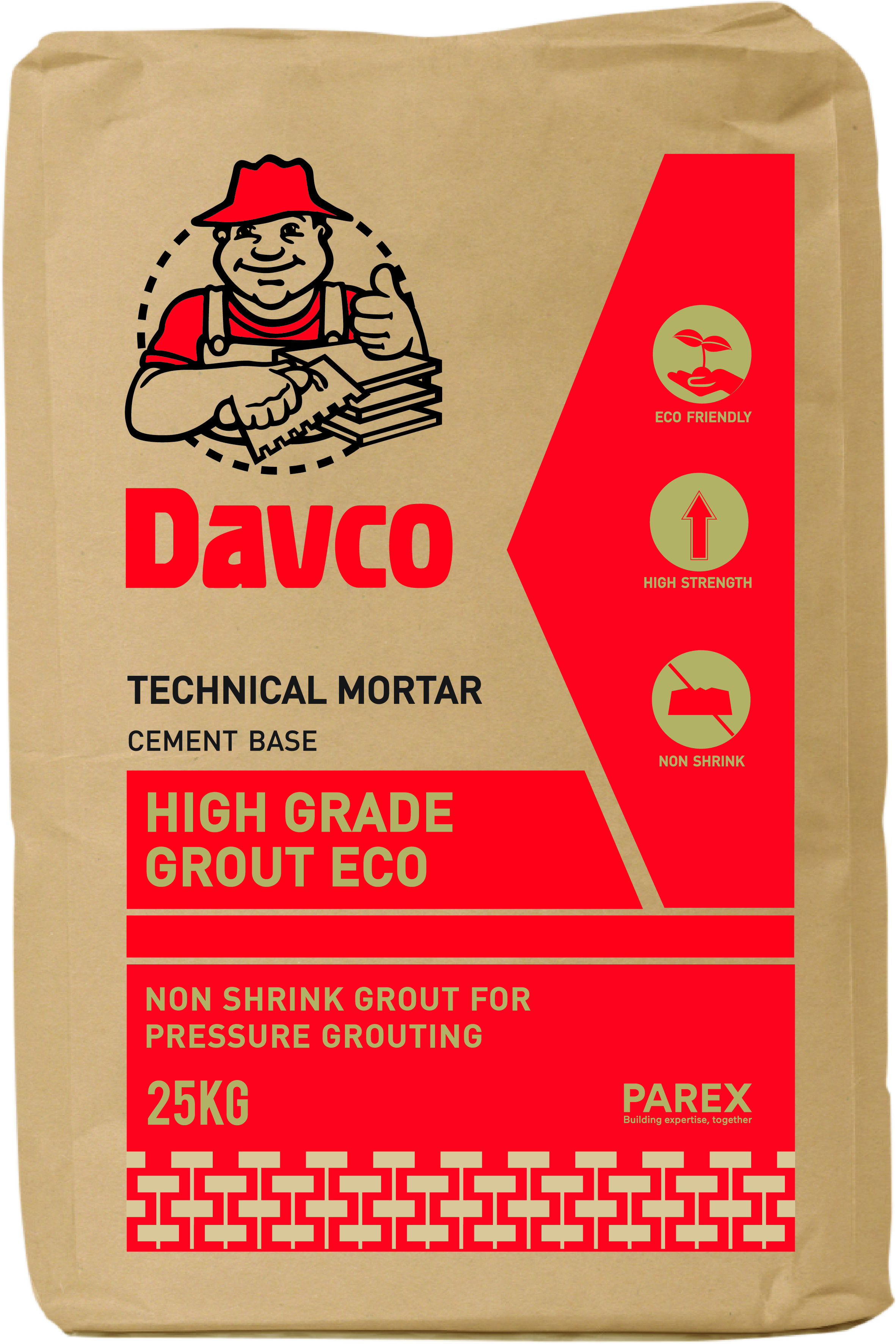 Davco High Grade Grout ECO