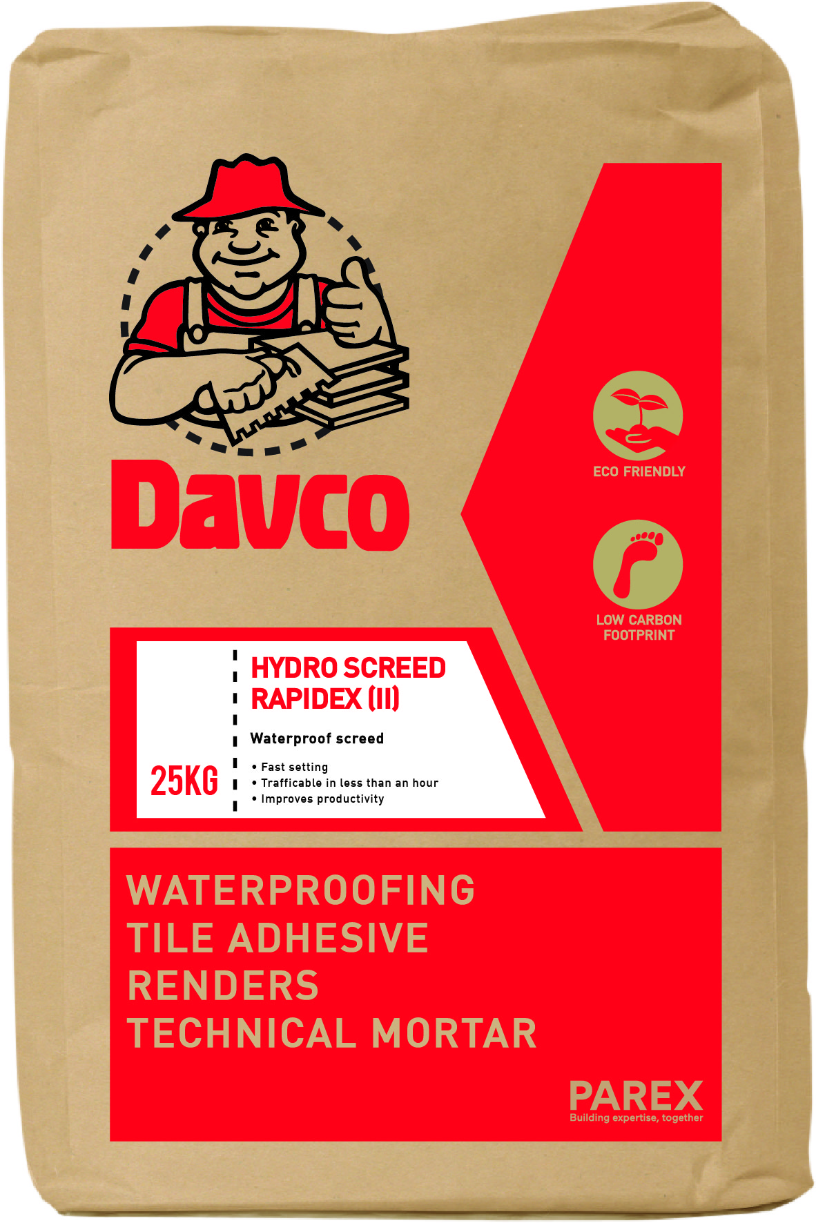 Davco Hydro Screed Rapidex (II)