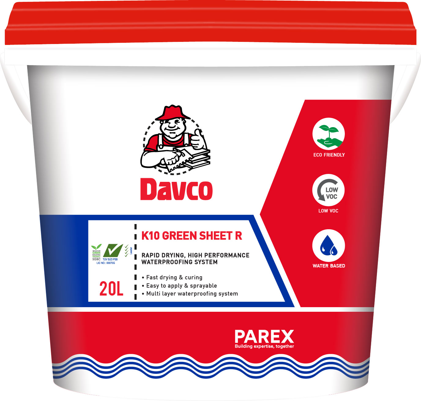 Davco K10 Green Sheet R