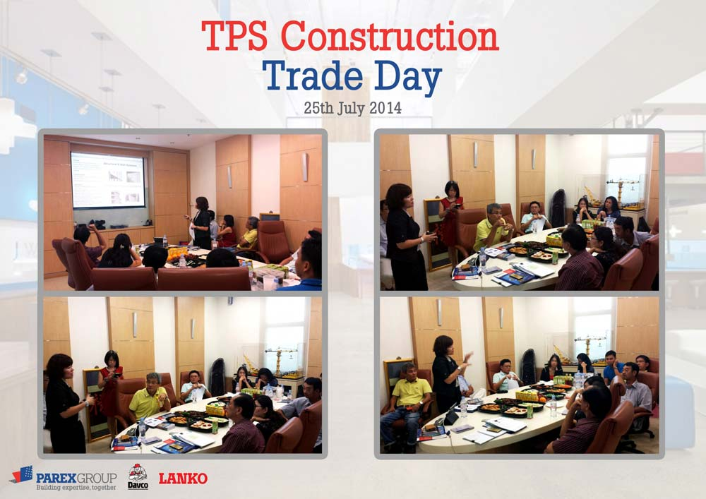 TPS Construction Pte Ltd - New Products Introduction